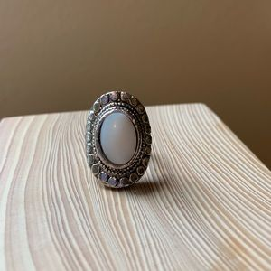 Handmade Oval Stone Ring